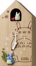 My Neighbor Totoro Studio Ghibli Japan Anime Clock Hayao Miyazaki Wood Wooden 3