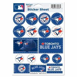 Toronto Blue Jays 5 x 7 Sticker Sheet Free Shipping