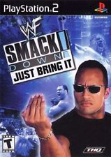 WWE SmackDown Just Bring It (2001) Brand New Factory Sealed USA PS2 Black Label