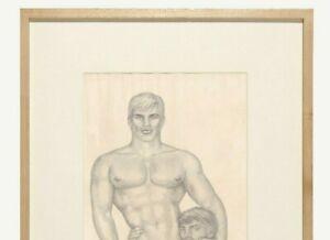 Tom of Finland Male Drawing Touko Laaksonen Gay Bikers leather Lovers