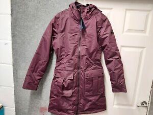 Regatta Romina UK 10 EU 36 Ladies Prune Lined Jacket