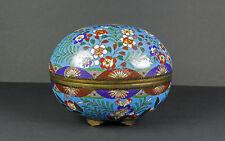 Cloisonne Japan Weihrauch- Dose Incense container späte Edo/frühe Meiji-Periode