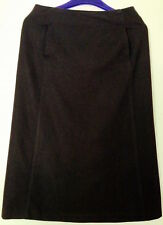 ♥ Witchery Skirt A-line Brown Wool UK8