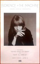 FLORENCE + THE MACHINE How Big How Blue How Beautiful 2015 Ltd Ed RARE Poster