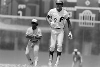 Original 35MM B&W Negative, Philadelphia Phillies Manny Trillo  July 27, 1980