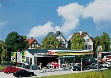 Faller 130345 Gas Station with Service Bay HO Tankstelle Mit Servicegebäude, NIB