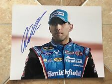 Aric Almirola Signed 8x10 Photo NASCAR COA