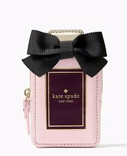 NWT Kate Spade On Pointe Perfume Coin Purse Wallet Card Holder Pink NEW $98
