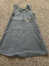 BHS Girls Fantastic Age 5 Years Grey School Pinafore Gorgeous Design Exc Cond