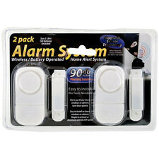 Door/Window Wireless Alarm System With Magnetic Sensor Technology 90db - 2 Pack