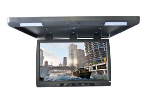 "56 cm Deckenmonitor 22"" Flipdown TFT LCD MONITOR IR Auflösung 1680x1050 HD Auto"