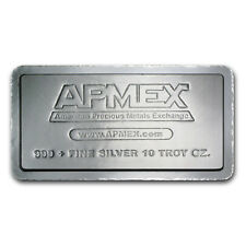 10 oz Silver Bar - APMEX (Stackable) - SKU #50644
