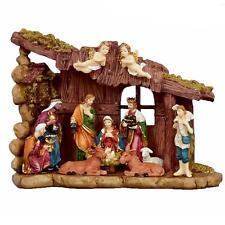 Decoración Navidad Escena natividad 12 Figuras & Establo Escena n141176
