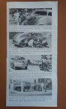 Vintage 1937 Sinclair Oil Gas Station Stout Scarab Car Automobile Art Print AD