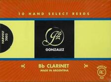 Gonzalez #2.25 Bb Clarinet Reeds (Box of 10 Reeds) BRAND NEW