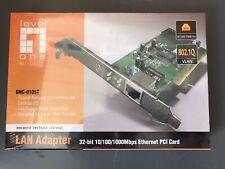 7€/Stück 17 x Netzwerkkarte LEVELONE LAN Adapte Gigabit Ethernet Netzwerkadapter