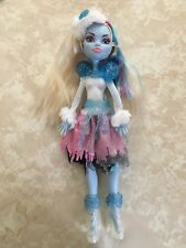 "Monster High 11"" Doll ABBEY BOMINABLE GHOUL'S RULE GHOULS Snow Monster"