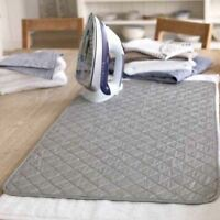 """Quilted Magnetic Ironing Mat Heat Resistant Laundry Pad Washer Dryer 23"""" x 21"""""""