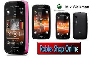 Sony Ericsson Mix Walkman WT13i Black-Pink (Ohne Simlock) WLAN Radio 3,2MP OVP