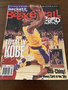 Kobe Bryant Beckett Basketball Price Guide May 1998