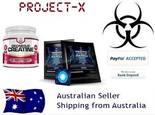 """Testo Anabolic Patch + Decabolic Creatine 1 Month Stack -  """"No steroids/HGH"""""""