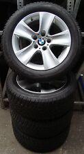 4 BMW Winterräder Styling 327 5er F10 6er F06 F12 225/55 R17 97H M+S ALUFELGEN