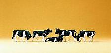 Preiser 14155 Cows - Brown & White or Black & White (Pk5) OO/HO Gauge Figures