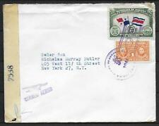 Panama covers 1944 censored AIRMAIL cover to New York