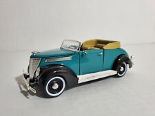 1937 Ford Convertible Sedan - Blue - Collectible Car - Scale 1:32 -