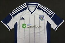 2014-2015 adidas West Brom Bromwich Albion F.C. Home Shirt SIZE S (adults)