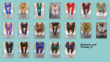 Einfarbige unifarbene Damen-Schals