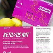 Pruvit  Keto//OS Bio NAT RASPBERRY LEMONADE NAT By Pruvit 20 packets