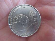 Pièce Portugal 2,5 euros 2008 commémorative jeux olympiques de Pekin