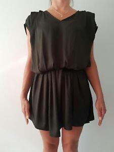 Beautiful and Sexy Grey Silky IRO Short Dress/Tunic Size 0
