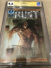 Rust 1 CGC 9.2 SS Todd McFarlane 1st Spawn Full Page Ad 4/1992