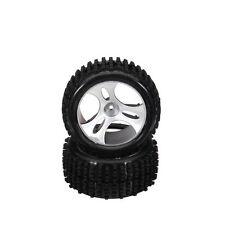 A-alloy Rims & Tires RC Car Wheels For 1/18 Original WLtoys A959 B 2415 4XTiers