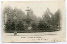 CPA - Carte Postale - France - Roubaix - La Fontaine des Trois Grâces - 1903 (SV