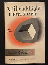 Ansel Adams Artificial-Light Photography Basic Photo 5 1971 Morgan & Morgan, Inc