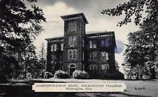 Wilmington Ohio c1910 Postcard Administration Building Wilmington College