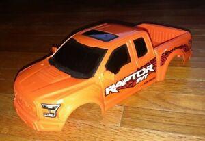"Ford Raptor SVT ORANGE 11"" truck rc Crawler Body Shell  (1:18 scale) new bright"