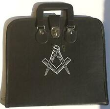 Masonic Regalia Smart File Case For MM/WM Apron with Soft Handle Square Compass