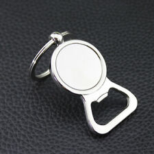 Creative Bottle Opener Keychain Key Ring Metal Beer Openers Kitchen Drink Tool