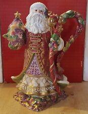 Fitz and Floyd Renaissance Santa Teapot w / Lid