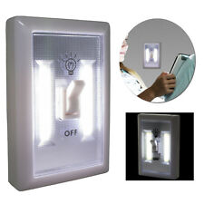 LED Wall Lighted Switch Wireless Instant Light Night Emergency Battery Opperated