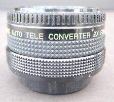 Canon Underground Auto Tele Converter 2X for Canon FD