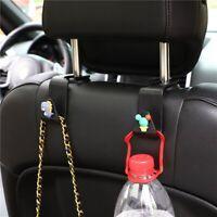 Black Auto Car Seat Hook Purse bag Hanger Bag Organizer Holder Clip Accessories.