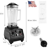 Pro 1000W 30000RPM Countertop Blender Smoothie Juice Nuts Mixer Adjustable Speed
