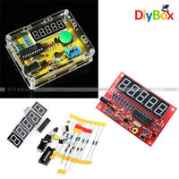 1Hz-50MHz Crystal Oscillator Tester Frequency Counter Meter Case DIY Kits