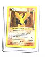 MOLTRES - 12/62 - Fossil -  Holo - Pokemon Card - EXC/NEAR MINT