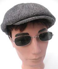 Gafas de sol gafas de níquel en plata/verde Retro Vintage 60er años unisex